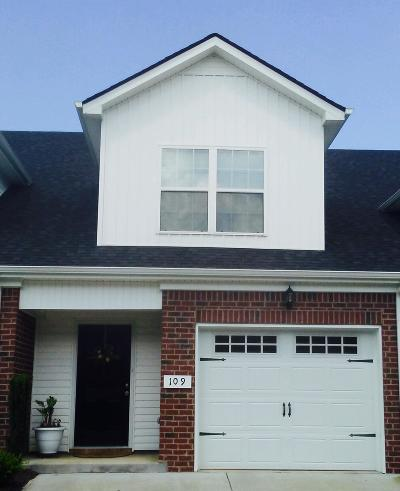 Smyrna Condo/Townhouse Under Contract - Showing: 109 Latimer Dr