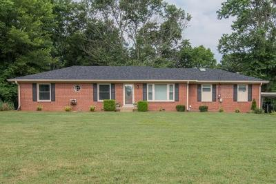 Wilson County Single Family Home Under Contract - Not Showing: 806 Juliet Dr