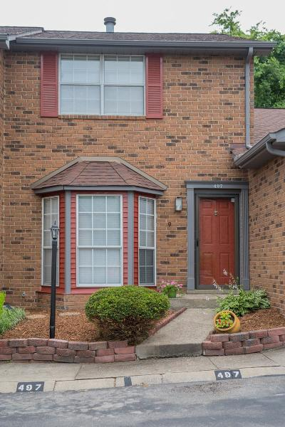 Davidson County Condo/Townhouse Under Contract - Showing: 497 Hickory Glade Dr