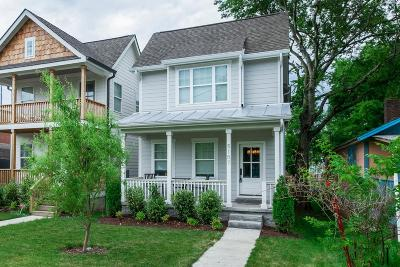 Nashville Single Family Home Active - Showing: 5107 B Tennessee Avenue
