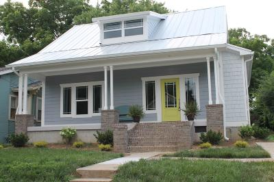 Nashville Single Family Home Active - Showing: 1017 Sharpe Ave