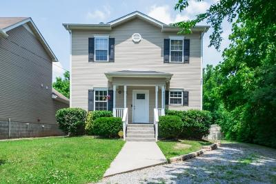 Nashville  Single Family Home Under Contract - Not Showing: 693 Park St