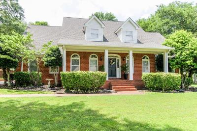 Mount Juliet Single Family Home Active - Showing: 1452 Trailridge Cir.