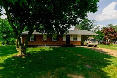 Christian County, Ky, Todd County, Ky, Montgomery County Single Family Home Under Contract - Showing: 209 Park Ln