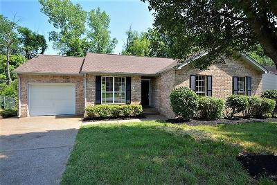 Nashville Single Family Home Under Contract - Not Showing: 2744 Airwood Dr