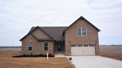 Clarksville TN Single Family Home Under Contract - Showing: $240,492