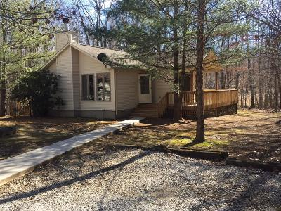 Monteagle TN Single Family Home Under Contract - Not Showing: $140,000