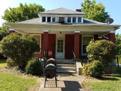 Paris Single Family Home For Sale: 511 W W Wood St