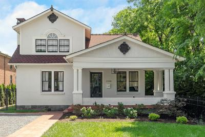 Nashville Single Family Home Active - Showing: 2208 Elliott Ave