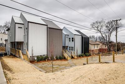 Nashville Single Family Home Active - Showing: 423 A 35th Ave N