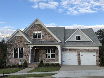 Franklin Single Family Home For Sale: 6086 Maysbrook Ln. - Lot 26