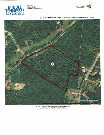 Hohenwald Residential Lots & Land For Sale: 383 Napier Rd