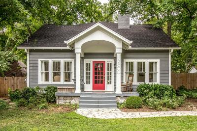 Nashville Single Family Home Active - Showing: 2600 W Linden Ave