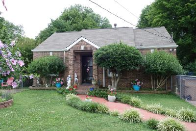 Nashville Single Family Home Active - Showing: 910 Ward St