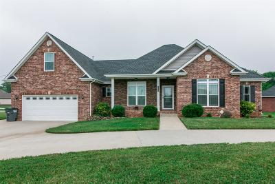 Clarksville Single Family Home Under Contract - Not Showing: 1099 Jon Dr