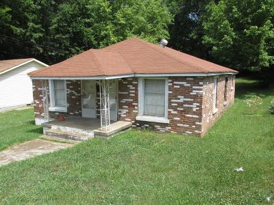 Clarksville Single Family Home Under Contract - Showing: 1315 .5 Cedar St