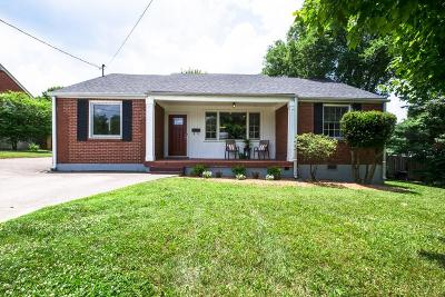Nashville Single Family Home Under Contract - Showing: 2106 Eastland Ave