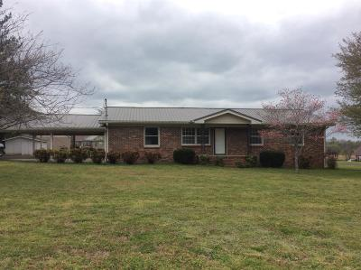 Single Family Home Under Contract - Not Showing: 808 Cheatham Springs Rd