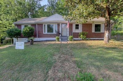 Single Family Home For Sale: 1056 Forrest Dr