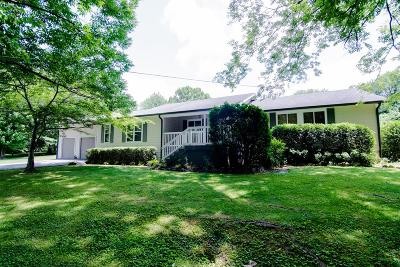 Brentwood  Single Family Home Under Contract - Showing: 6809 Walnut Hills Dr