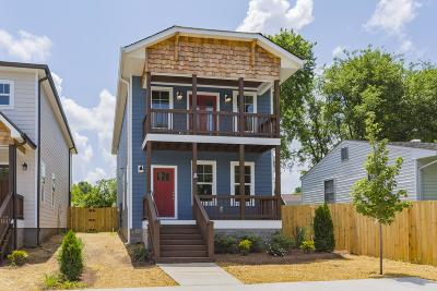 Nashville Single Family Home Under Contract - Not Showing: 668 A James Avenue