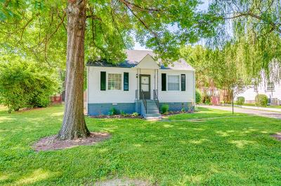 Nashville Single Family Home Active - Showing: 261 Tanksley Ave