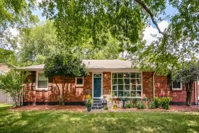 Nashville Single Family Home Under Contract - Showing: 614 Galaxie Dr