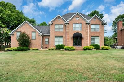 Hendersonville Single Family Home Under Contract - Showing: 107 Ballentrae Dr