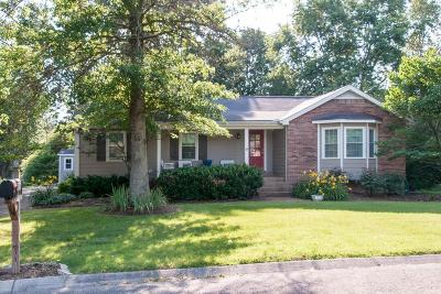 Nashville Single Family Home Under Contract - Showing: 825 Footpath Ter