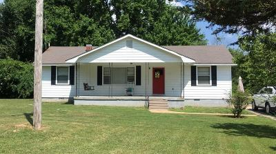 Lawrenceburg TN Single Family Home Under Contract - Not Showing: $87,000