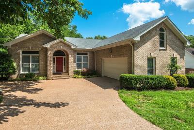 Nashville Single Family Home Under Contract - Showing: 1105 Deerhurst Ct