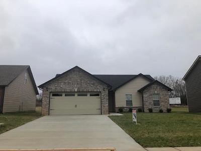 Clarksville Single Family Home Under Contract - Not Showing: 59 Ridgeland