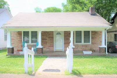 Nashville Single Family Home Active - Showing: 410 Hart Ave