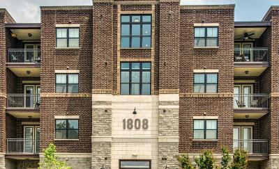 Nashville Condo/Townhouse Active - Showing: 1808 24th Ave S # 302