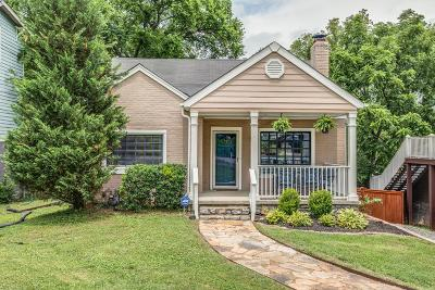 Nashville Single Family Home Under Contract - Showing: 1009 Maynor St