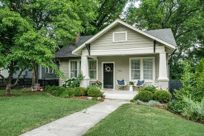 Nashville Single Family Home Active - Showing: 746 Roycroft Pl