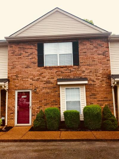 Williamson County Condo/Townhouse Under Contract - Not Showing: 7338 Planters Rd