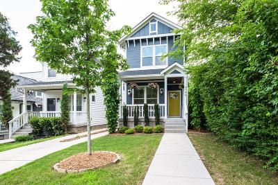 Nashville Single Family Home Under Contract - Showing: 908 A Spain Ave