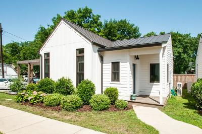 Nashville Single Family Home Active - Showing: 1813 B 3rd Ave N