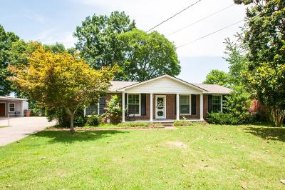 Nashville Single Family Home Under Contract - Not Showing: 6624 Upton Ln