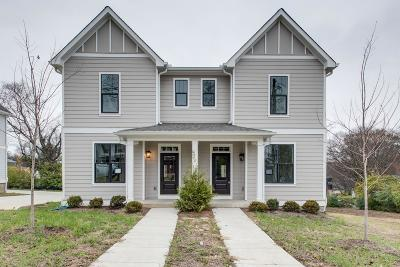 East Nashville Single Family Home Active - Showing: 311 B Prince Ave