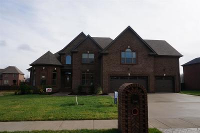 Clarksville Single Family Home Under Contract - Showing: 444 Farmington