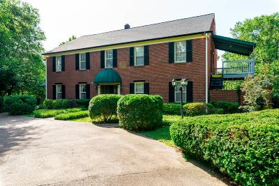 Nashville Multi Family Home Active - Showing: 3735 Whitland Ave
