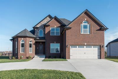 Clarksville Single Family Home Under Contract - Showing: 100 Wellington Fields