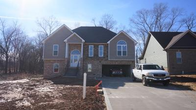 Clarksville Single Family Home Under Contract - Showing: 53 Griffey Estates