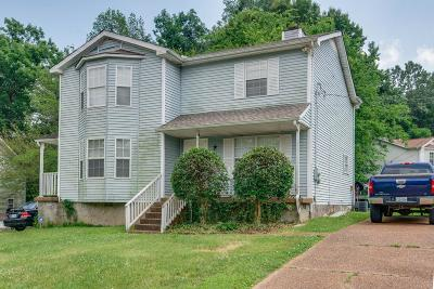 Nashville TN Single Family Home Under Contract - Not Showing: $125,000