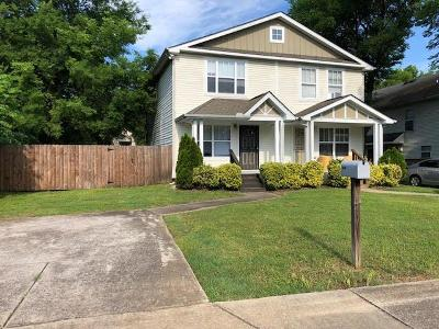 Nashville Single Family Home Active - Showing: 817 A 31st Ave N
