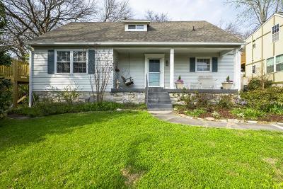 Nashville Single Family Home Active - Showing: 1846 Primrose Ave