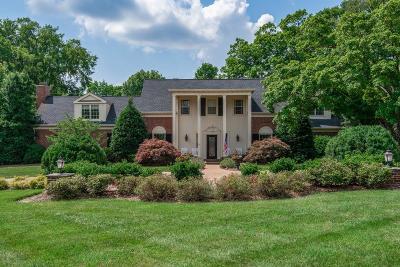 Nashville TN Single Family Home Active - Showing: $1,750,000
