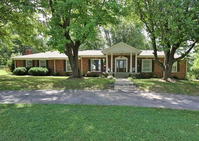 White House Single Family Home For Sale: 919 Meadowlark Dr